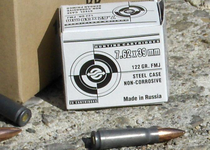 WTS: AK-47 7.62 x 39 ammo 122 Gr. FMJ 250.00 per 1000 rnds. - Sponsor Display